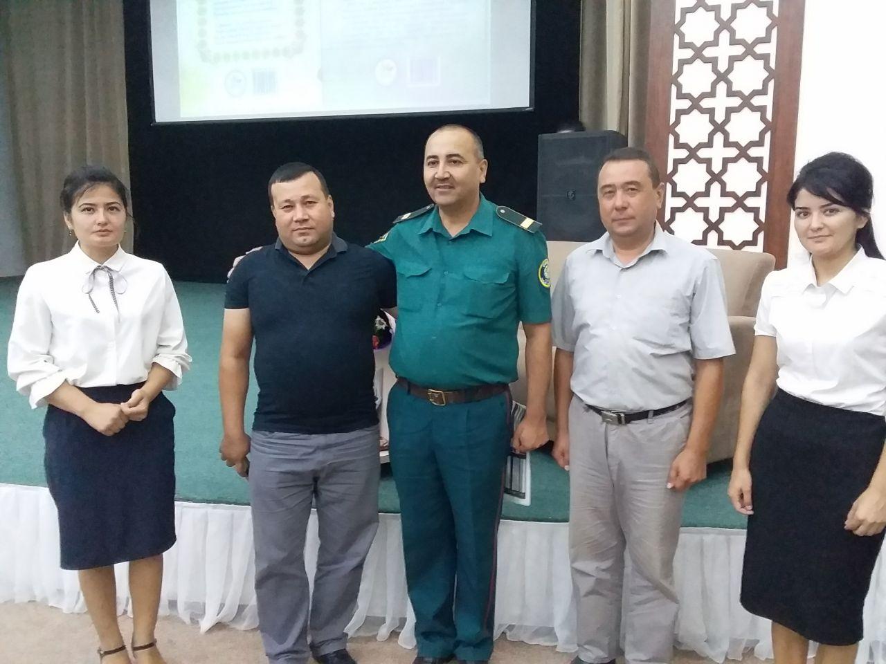 In 2019 year 2 July, book presentation of Usmonov Bekmurod had been in