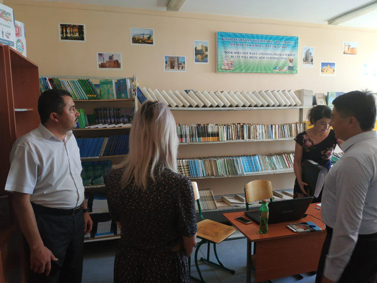 Natalya Sannikova, an assistant professor at the Department of Russian Language and Literature of Astrakhan State University, was invited to give a le