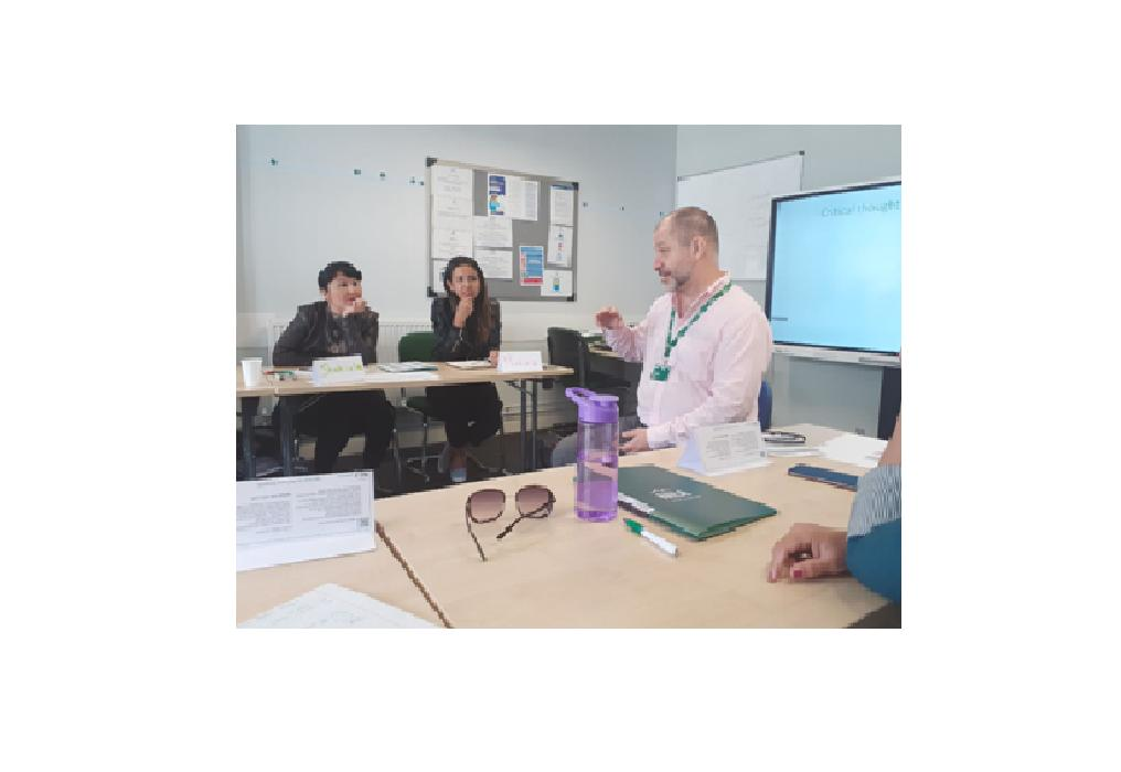 """The teachers of the """"English Language and Literature"""" department had completed the professional development course in Great Britain"""