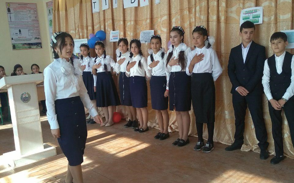 In connection with the 30th anniversary of granting the Uzbek language the status of the state language