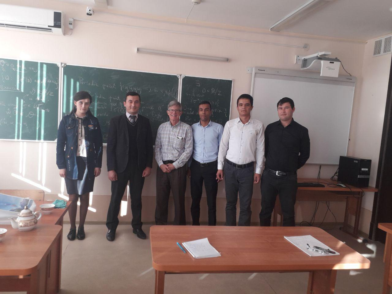 International cooperation with leading universities of the world is developing at the Faculty of Physics and Mathematics of Urgench State University.