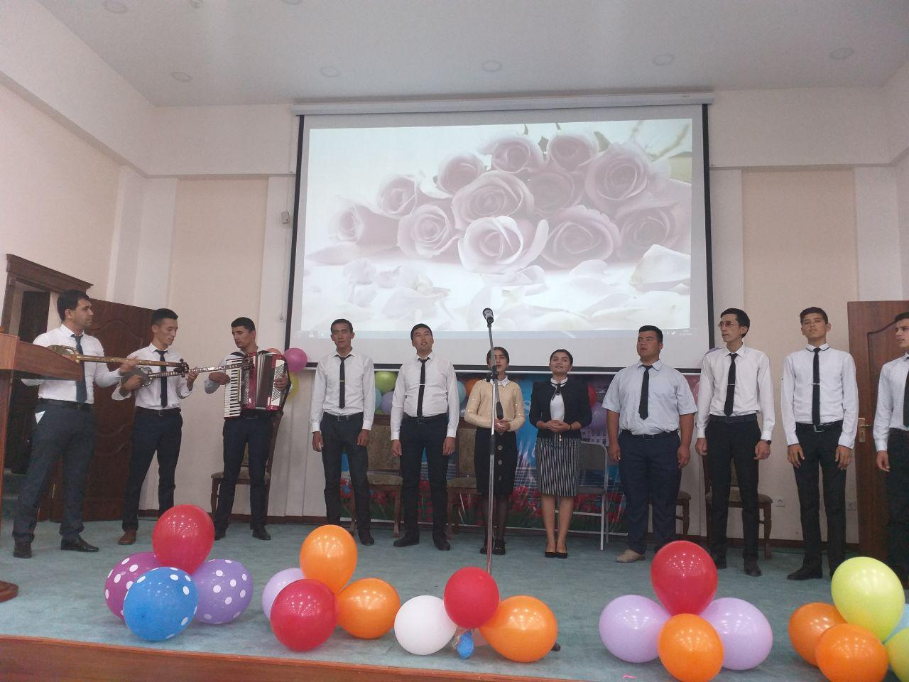 On October 1, there was an event dedicated to the Day of Teachers and Mentors