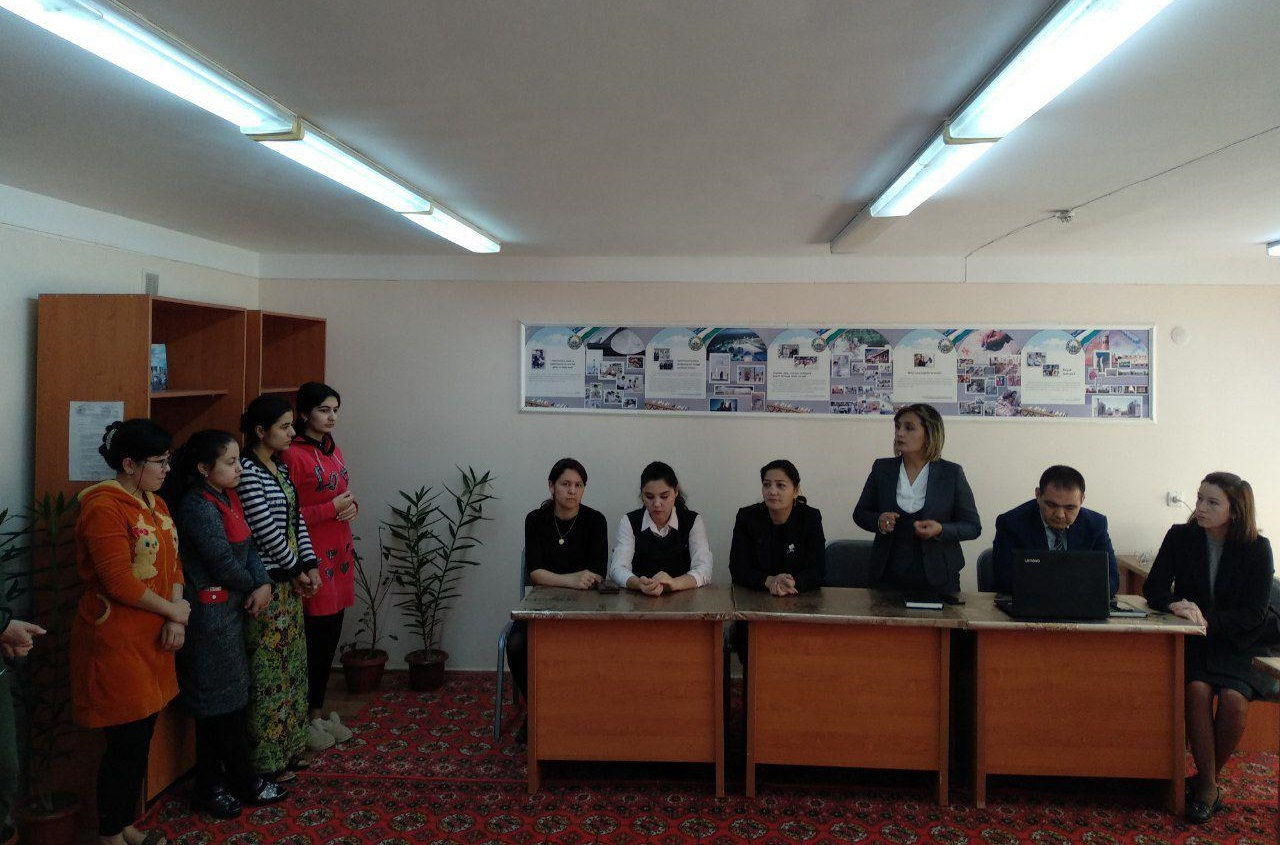 Professors of the Department of English Language and Literature at the Faculty of Foreign Philology held the Day of the Chair in the Building 2