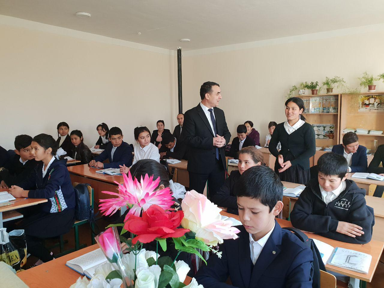 Master-classes in Yangibazar district