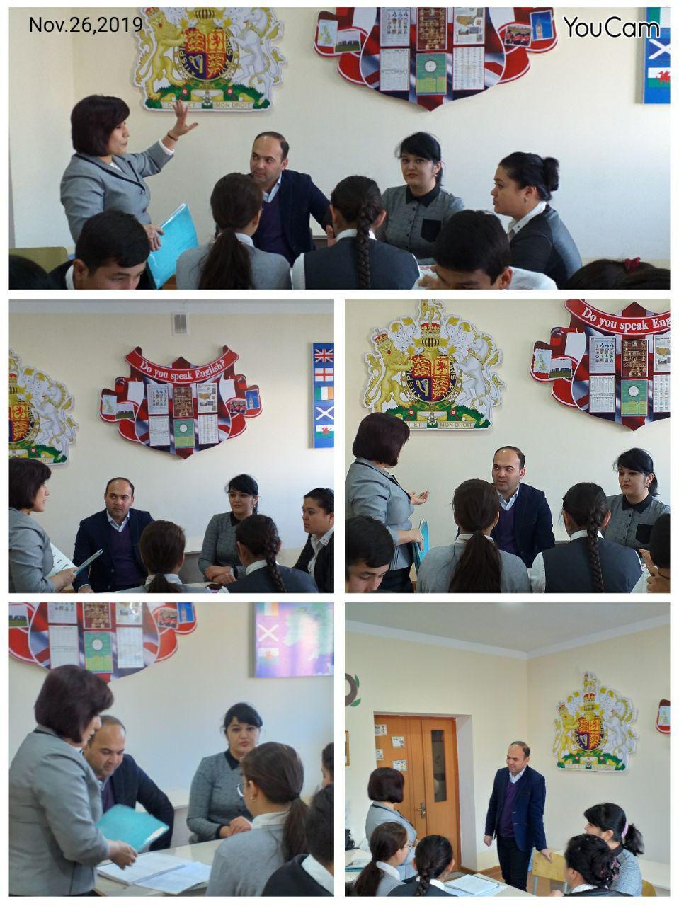 Master class for the school teachers