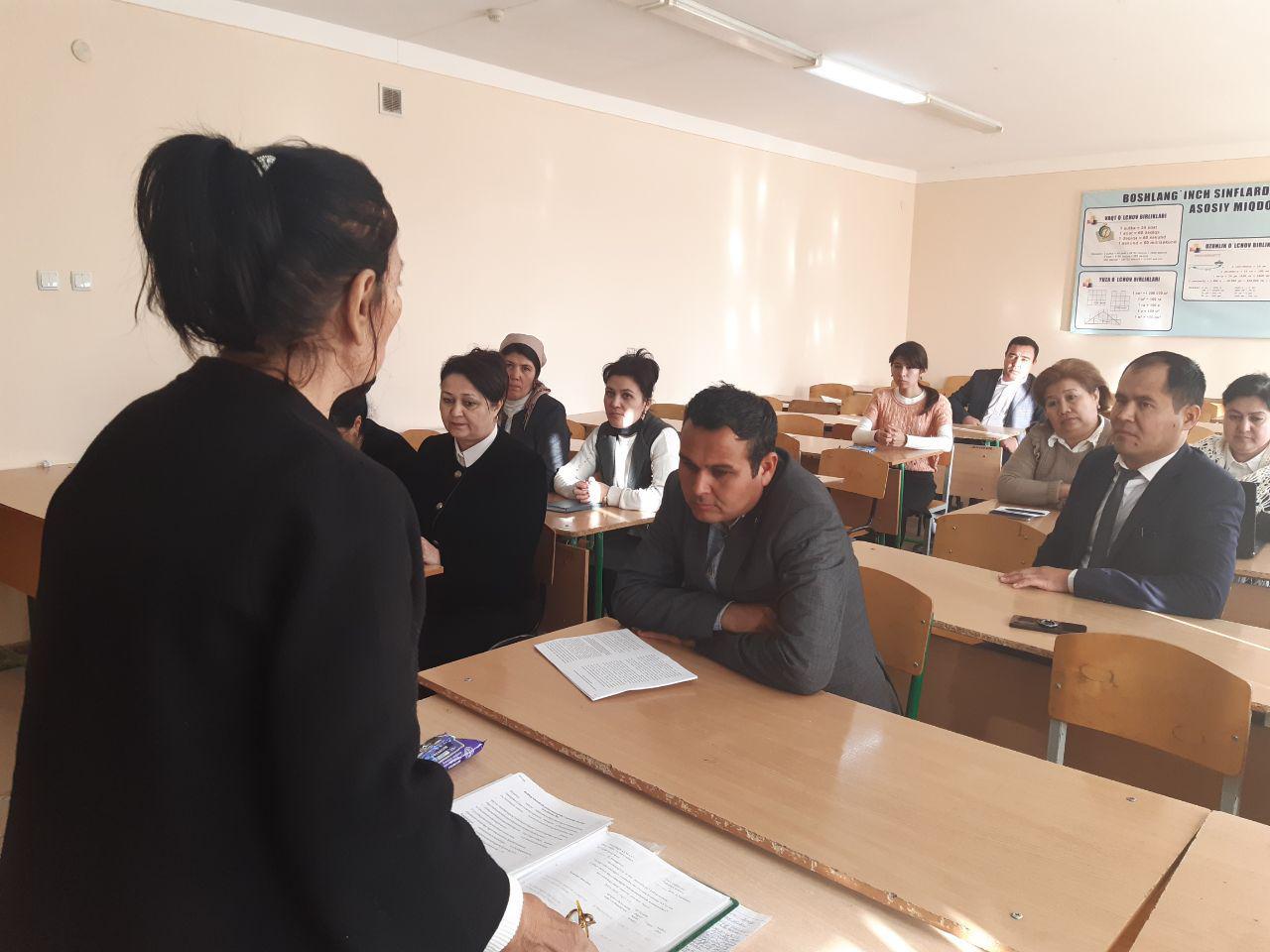 На кафедре элементарных методов педагогического факультета проведен семинар по методологии решения педагогических задач в 4 классе.