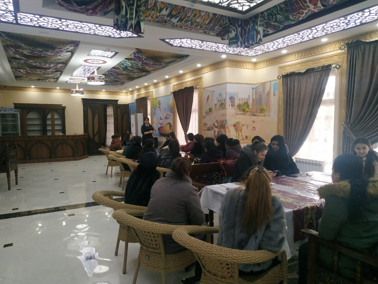 In Khiva, a master class was held for the staff of the room cleaning facilities