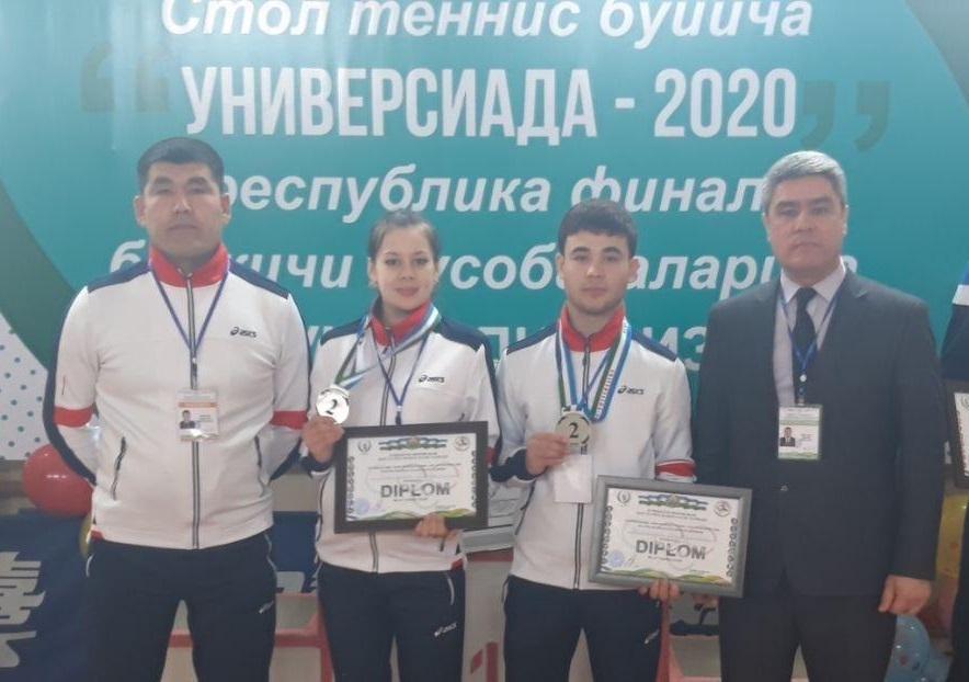"""""""Universiada-2020"""" sport o'yinlaridan stol tennisi bo'yicha final bosqichi bo'lib o'tdi"""