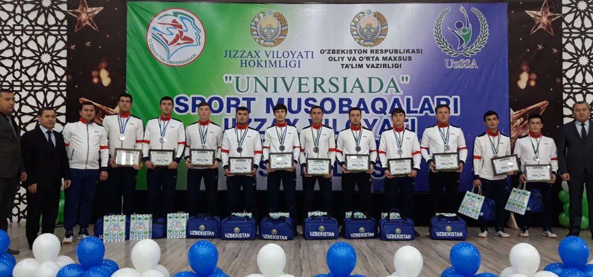The UrSU handball team won a silver medal