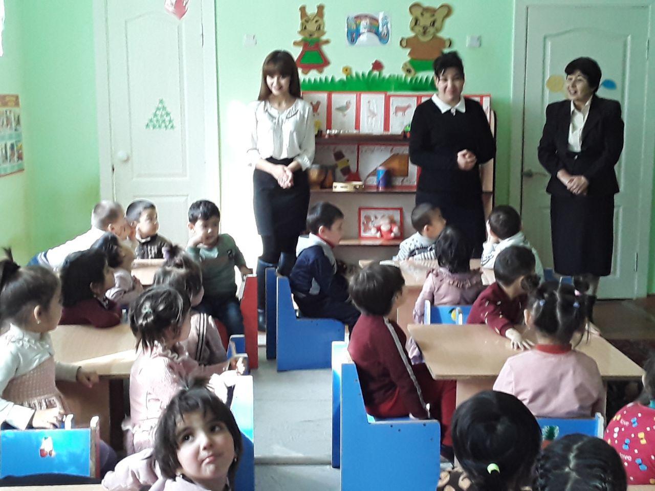 20 февраля 2020 года доцент кафедры «Методы дошкольного образования» Г. Ещанова провела мастер-класс для учителей 5-й дошкольной образовательной орган