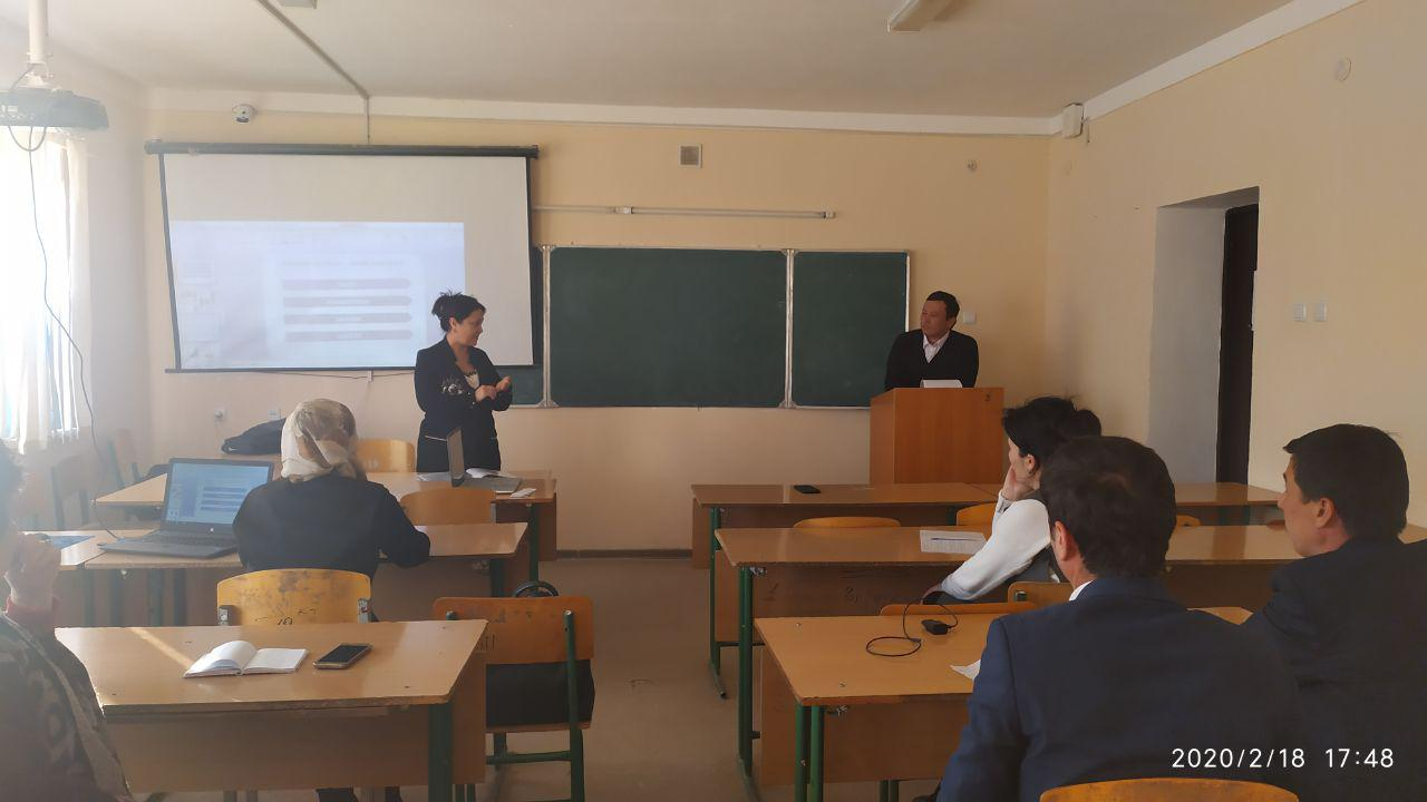 On May 6, at 17:00, a scientific and theoretical seminar of the Department of Primary Education Methodology was held in room 412 of the Pedagogical Fa