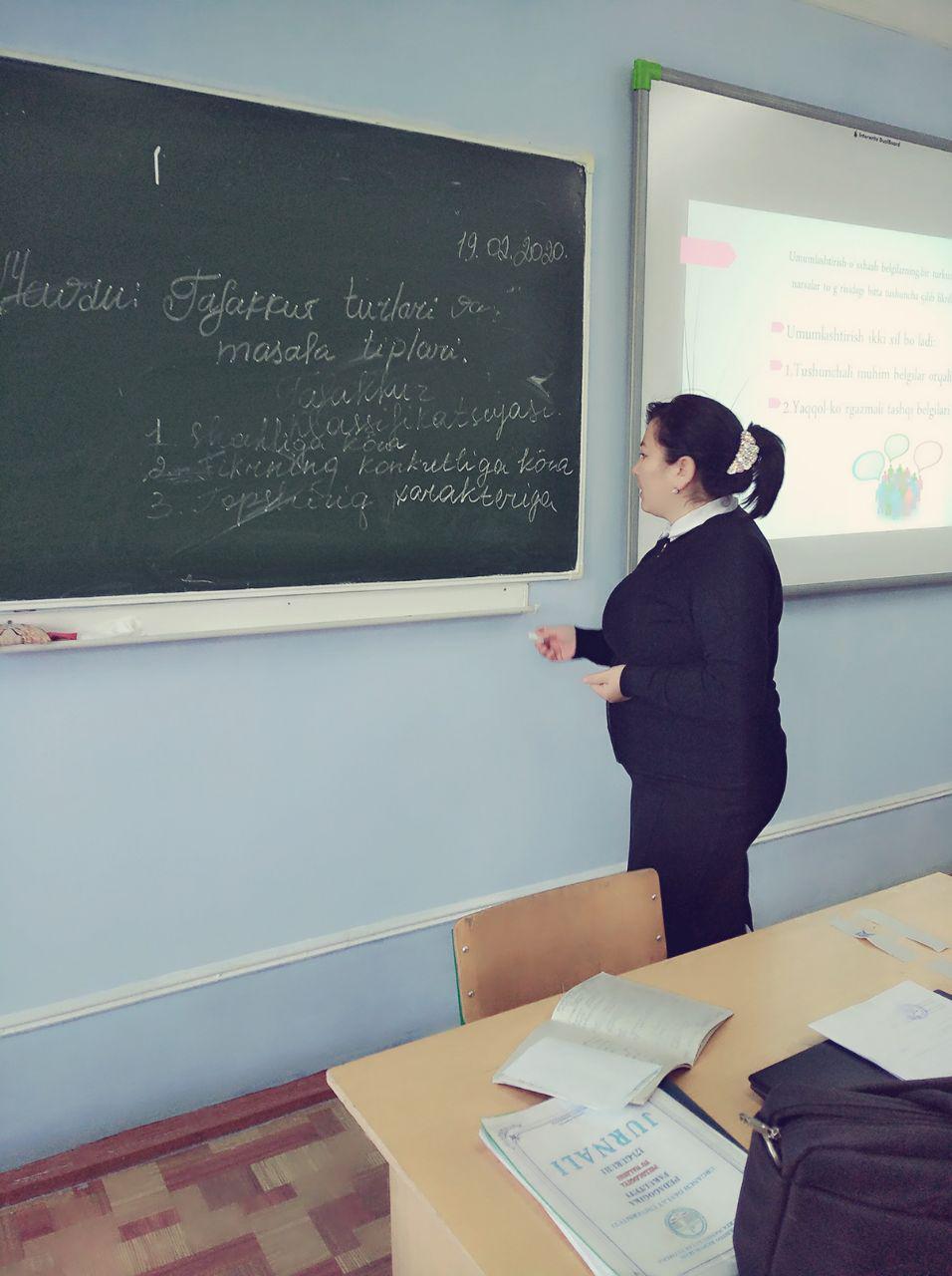 Pedagogika fakulteti pedagogika yo'nalishida ilmiy nazariy seminar bo'lib o'tdi