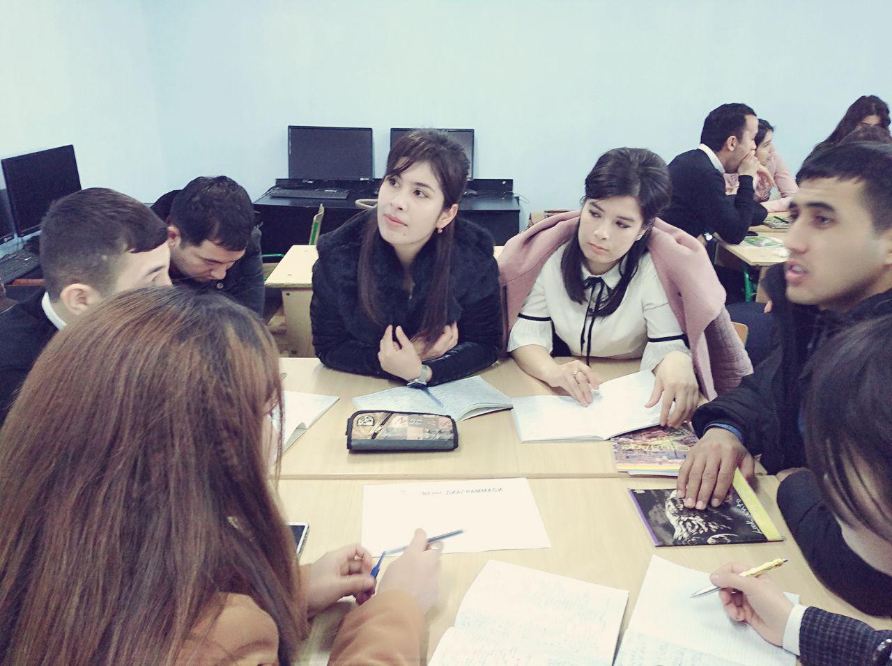Лекция проходила на кафедре психологии.