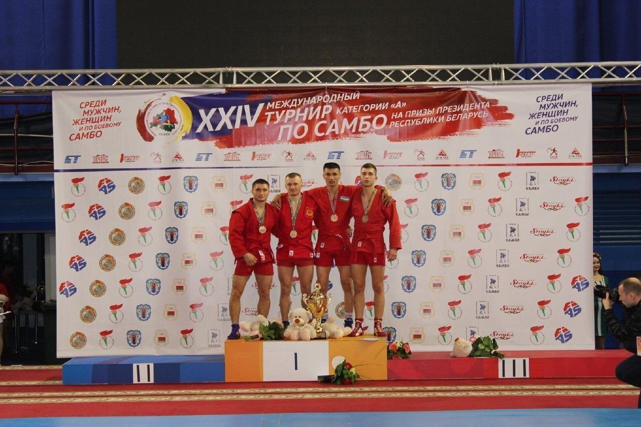 Xalqaro sport turnirida UrDU talabasi medalni qo'lga kiritdi