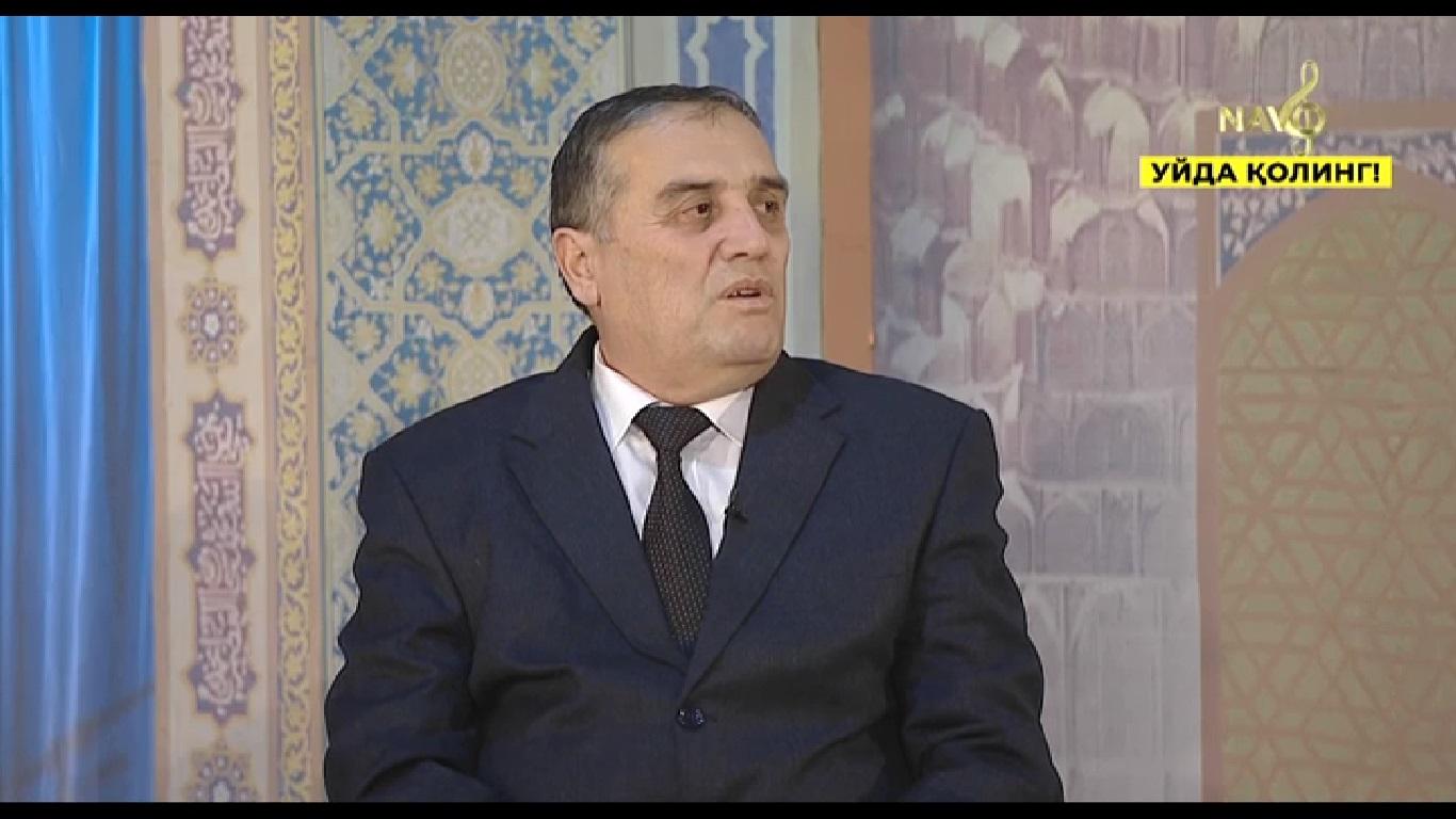 On April 26, 2020 at 08:00 Botir Rakhimov took part in the episode of Navo TV channel