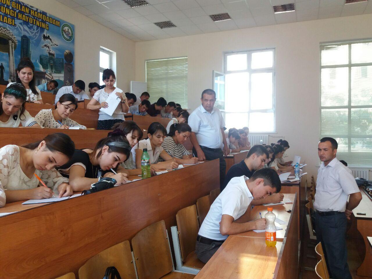 25 июня 2019 года для магистрантов – выпускников УрГУ был проведен Государственный экзамен по спецдисциплинам.