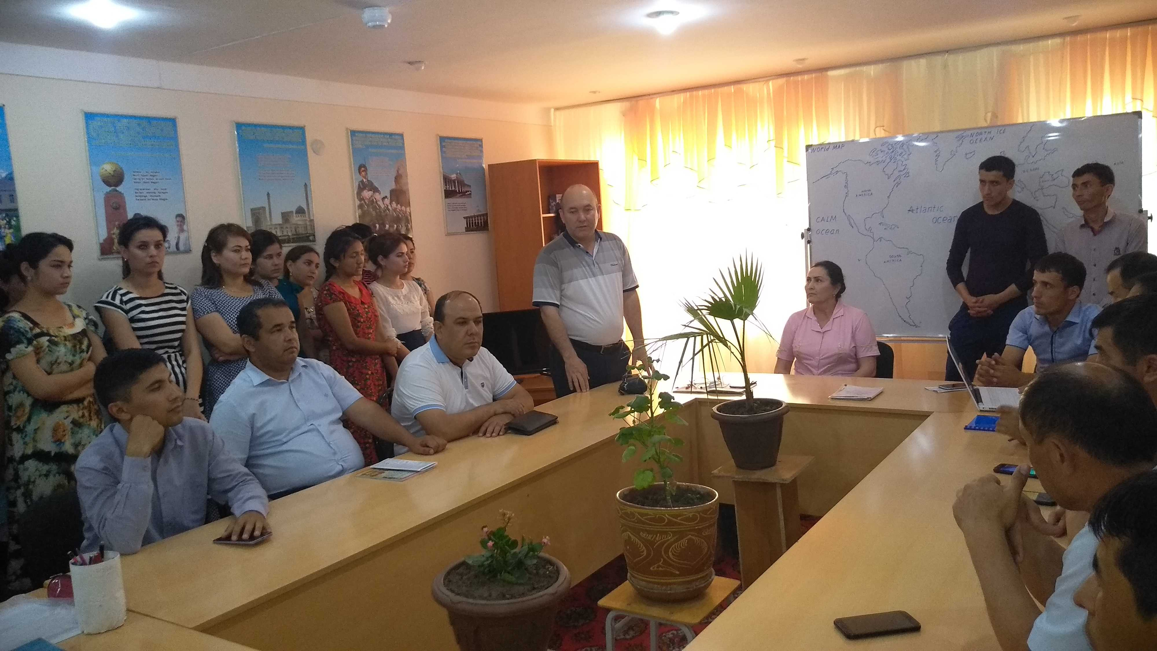 In the last week of May, teachers of the Department of Chemistry, together with the students of the Faculty held the day of the department.