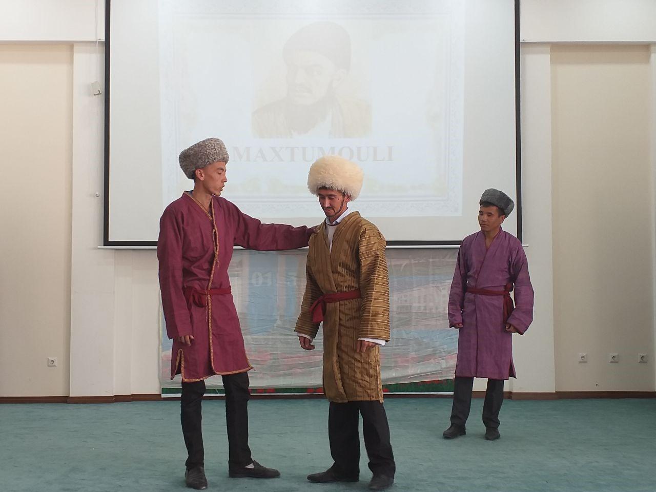 In 2019 year 11 June,devoted to Makhtumquli poetry competition of ''She'riyat shohsupasi