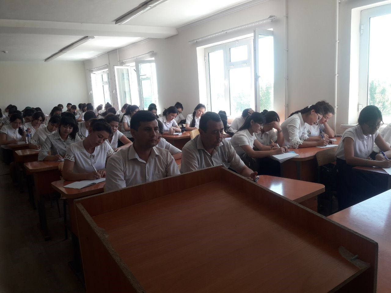 On June 17,2019 there was a confrence on folklore practice at the Department of ''Uzbek literature'' of the Philological Faculty. It was attented by p