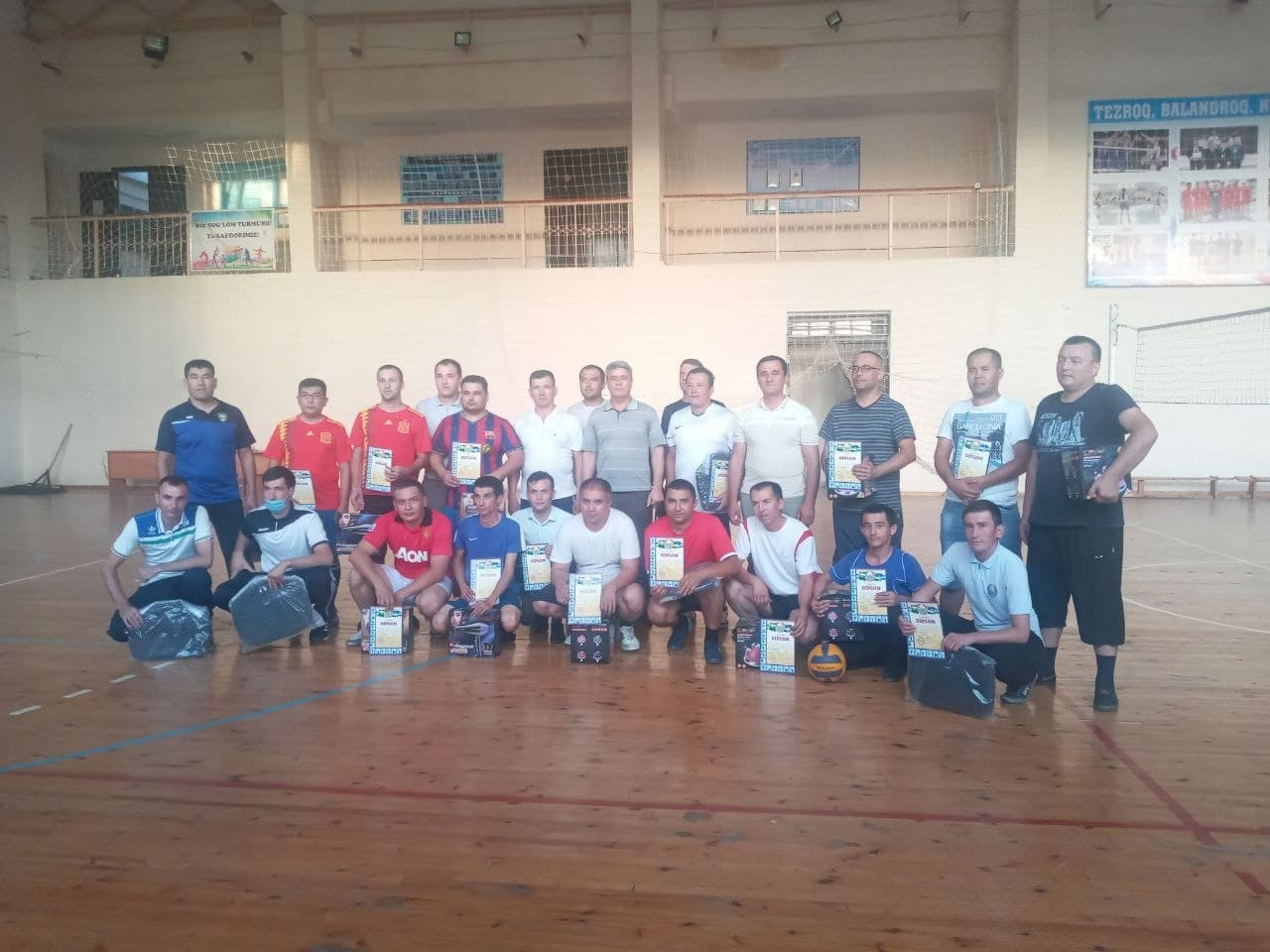On August 30, 2021, on the occasion of the 30th anniversary of the Independence of our country, the University Championship was held on Volleyball among professors and staff of the University.
