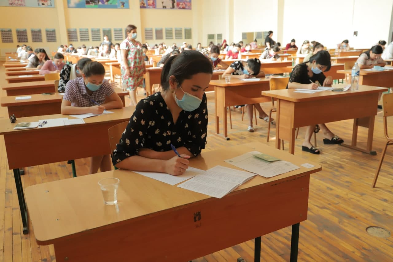 The entrance exams for the Master's Degree at Urgench State University are over.