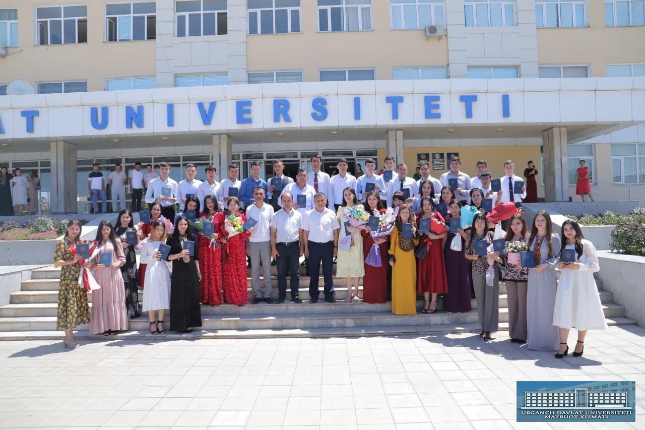 Diplomas were awarded to foreign graduates at UrSU