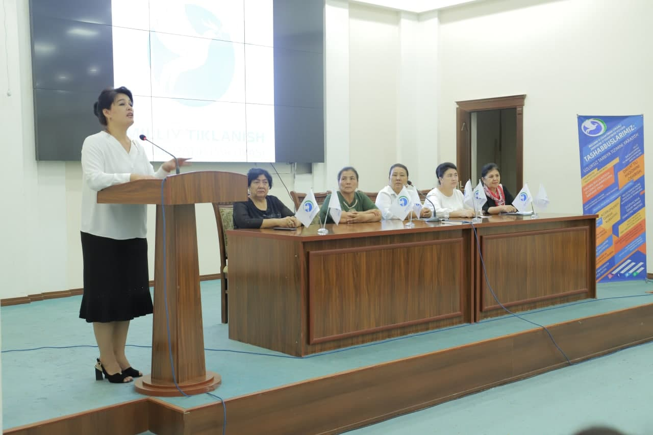 Khorezm regional council of the Uzbekistan National Revival Democratic Party and Urgench State University held an event