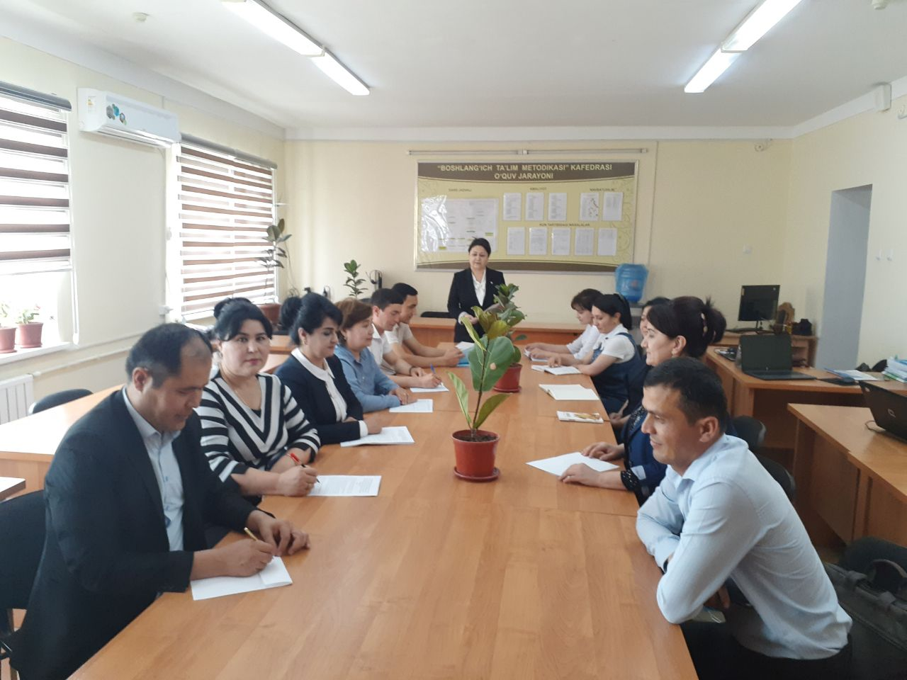 On May 10, 2021, a regular scientific and theoretical seminar of the Department of Primary Education Methodology was held
