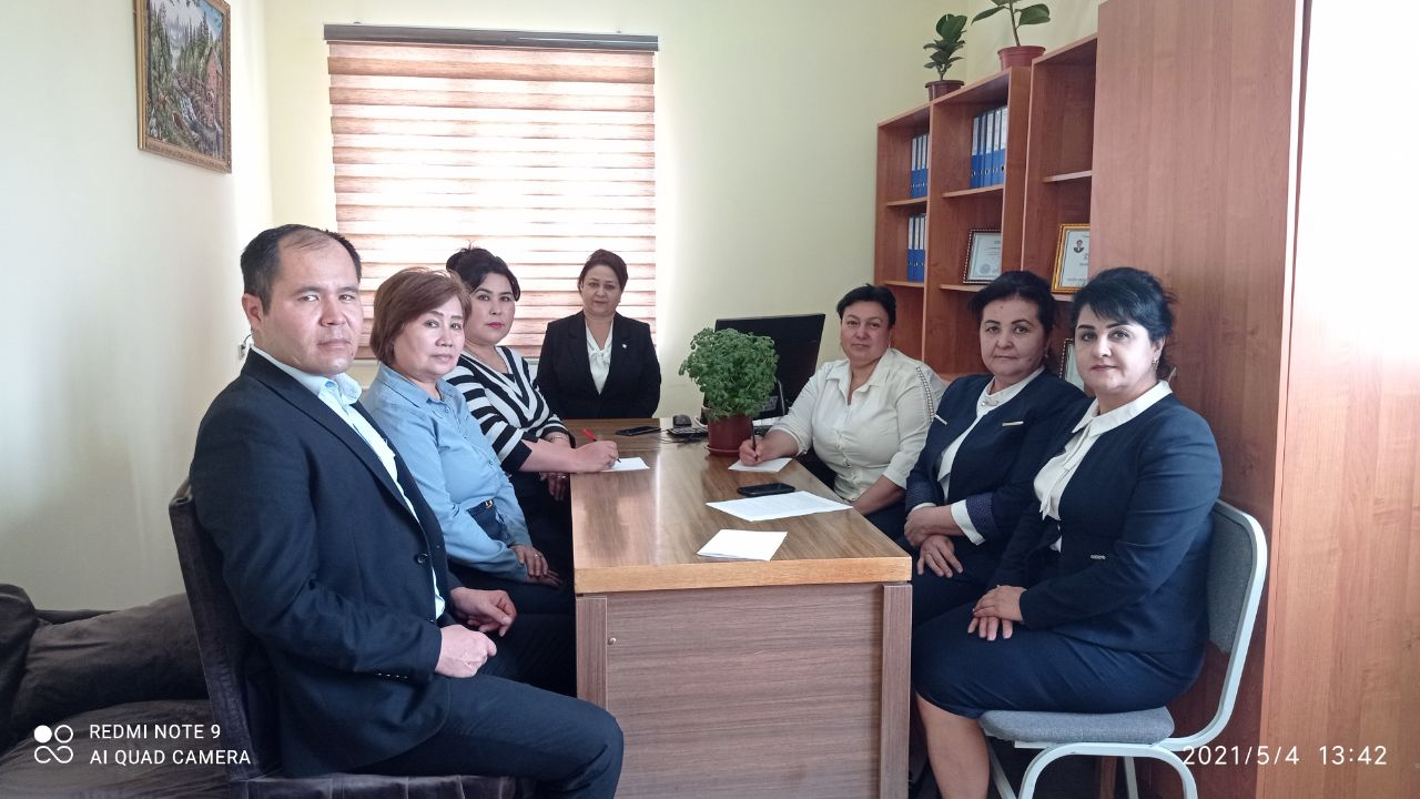 Photos from the meeting of the Department of Primary Education Methodology