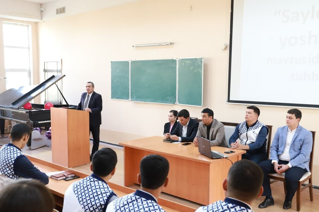 Urgench State University hosted a meeting on