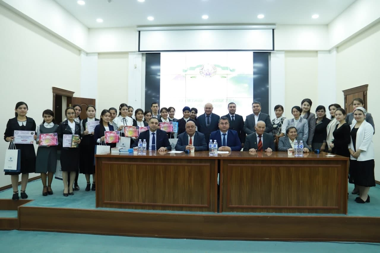 """Urgench State University held a scientific-practical conference on the topic """"New stage of Uzbek language development in new Uzbekistan"""""""